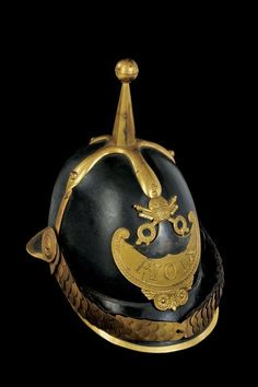 Papal helmet for an officer, 19th century.