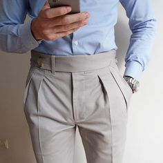 THE BASIC – Men's style, accessories, mens fashion trends 2020 Nigerian Men Fashion, Indian Men Fashion, Mens Fashion Suits, Fashion Pants, Men Trousers, Mens Dress Pants, Formal Men Outfit, Pantalon Costume, Designer Suits For Men