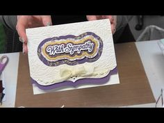 """#183 Learn to be a Die Cut Diva with """"Wafer Dies"""" from Simply Defined by Scrapbooking Made Simple - YouTube"""