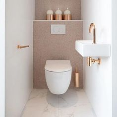 Small bathroom storage solutions and shelves ideas bathroom ideas shelf s .Storage Solutions for Small Bathrooms and Shelves Ideas Bathroom Ideas Shelf s . Small Solutions for Bathroom Storage Small Downstairs Toilet, Small Toilet Room, Guest Toilet, Downstairs Bathroom, Bathroom Under Stairs, Toilet Wall, Bathroom Wall, Bathroom Design Luxury, Bathroom Design Small
