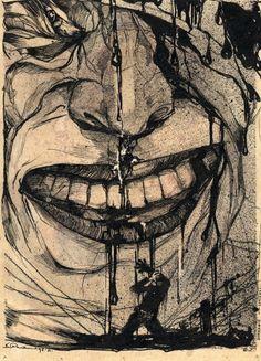 Kārlis Padegs (1911-1940) sērija - Sarkanie smiekli (1930-1931).