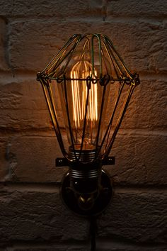 Edison Cage Wall Lamp — Artifact Lighting