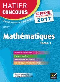 Roland Charnay et Michel Mante - Mathématiques - Tome 1, Epreuve écrite…