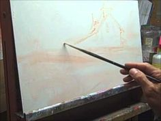 """▶ Oil Painting PART 1 of 3. Recreating """"Atlantic Sentinel"""" by Richard Schmid - YouTube"""