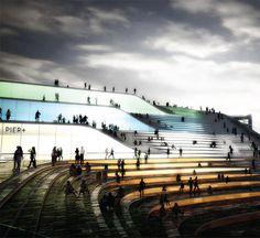 AECOM + BIG / Navy Pier proposal