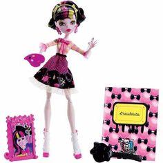 Boneca Monster High Aula De Arte Draculaura Mattel R$ 119.99