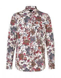 Sisley uomo autunno inverno 2014 2015 è dandy e bohemian. Sisley camicia slim fit propilene fiori 59.95 euro