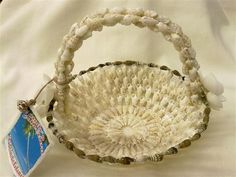 Seashell basket