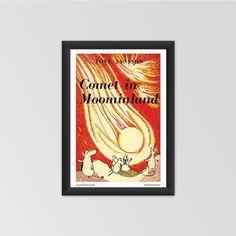 Moomin poster - Comet in Moominland