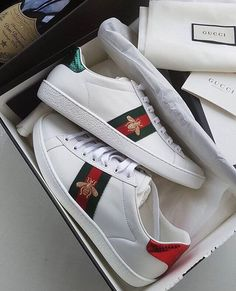 Gucci version of the Adidas Stand Smith