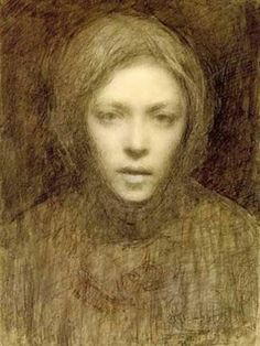Ellen Thesleff (Finnish artist) 1869 - 1952 Omakuva (Self-Portrait)She became a member of a group of Finnish artists influenced by the Symbolist movement in Paris. Helene Schjerfbeck, Self Portrait Drawing, Portrait Art, Illustration Art, Illustrations, Figurative Art, Female Art, Art History, Painting & Drawing