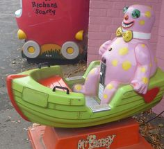 Mr. Blobby ... This is one unfortunate ride.
