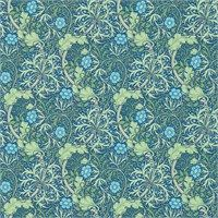 The Original Morris & Co - Arts and crafts, fabrics and wallpaper designs by William Morris & Company | Products | British/UK Fabrics and Wallpapers | Morris Seaweed (DM3W214713) | Archive III Wallpapers