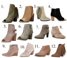 Hey Cute Bootie! Stitch Fix Brand booties all on sale! August 2016