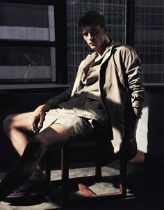 Clement Chabernaud by Hasse Nielsen for GQ Australia #fashionphotography #fashion #photography