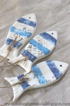 Kifli és levendula: tengeri dekoráció