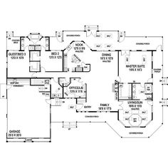 House plan- love the set up, side garage, wrap around porch, one level, I would make the porch off the master bedroom a private porch.