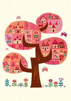 Bg Design, Design Poster, Garden Illustration, Graphic Design Illustration, Scandinavian Folk Art, Fashion Wall Art, Illustrations And Posters, Pattern Art, Vector Art