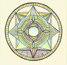 Přání - mandala harmonie Crochet Mandala, Painting & Drawing, Symbols, Paintings, Drawings, Art, Art Background, Paint, Painting Art