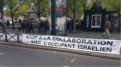 Partisans et opposants du mouvement de boycott d'Israël manifestent à Paris (IMAGES)