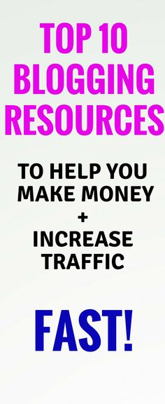 Top bloggnig resources for bloggers! This is amazing! These are the best blogging courses, ebooks and affiliate  networks and programs for bloggers to check out! Blogging for beginners  blogging tools  blogging tips  Make money blogging  New bloggers  improve pinterest traffic. Definitely pinning this!
