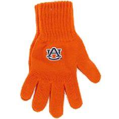 Gloves, Knit Au Orange | Auburn University Bookstore