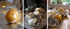 Baked potatoes with smoked salmon filling – SaJe Food Small Living Room Table, Baked Potatoes, Small Plates, Smoked Salmon, Tiramisu, Nom Nom, Stuffed Mushrooms, Flat, Dining