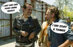 The Walking Dead #Negan #Rick #TWD