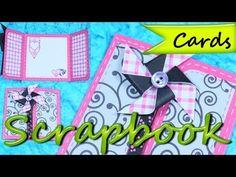 ▶ Tarjetas de Cumpleaños *Birthday Greeting Cards* Tarjetas Felicitaciones * DIY Scrap Pintura Facil - YouTube