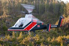 Canadian Kaman K1200 KMax helicopter, Photo : Bill CAMPBELL