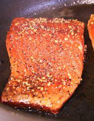 Pan Seared Salmon Steakettes | Kevin & Amanda's Recipes