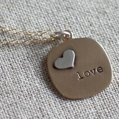 Simply Love Necklace by @amycornwell