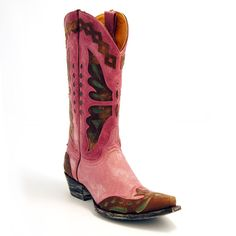 Old Gringo Purple & Brass Monarcha Boot at The Maverick Western Wear