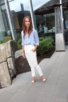 Alicia Vikander Street Style