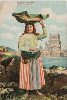 Lisboetas Isadora Duncan, Vintage Posters, Vintage Photos, History Of Portugal, Portuguese Culture, Old Postcards, Lisbon, Folk, Costumes