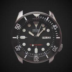 E3 Seiko Retro Mod 42mm AR Sapphire Automatic Watch: 007 Diver