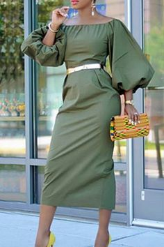 Hot Dress, Jumpsuit Dress, Belted Dress, Black Jumpsuit, African Fashion Dresses, African Dress, Fashion Outfits, Boat Neck Dress, Moda Chic
