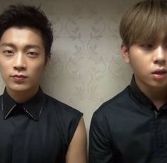 B2ST's Doojoon and Junhyung say thank you to B2UTYs with free download for 'I Am A Man' | allkpop