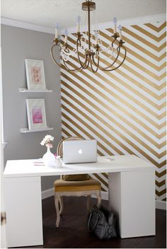 Made By Girl: Shay's Leap of Faith + Home Office