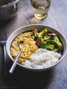 Tofu mariné, champignons et brocoli   Jujube en cuisine