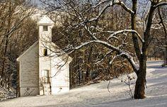 Church near Boone, N.C. in the Blue Ridge Mtns.