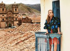 visual optimism; fashion editorials, shows, campaigns & more!: the accidental tourist: nathalia oliveira by nicole bentley for marie claire australia march 2014