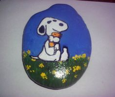 Snoopy/Woodstock, my grandson would like this one!