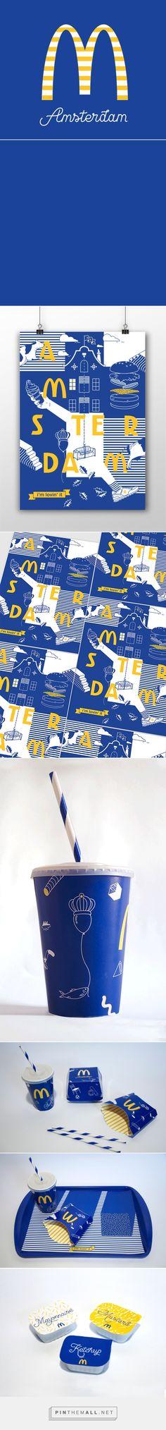 另類麥當勞 藍色包裝 | MyDesy 淘靈感 - created via http://pinthemall.net