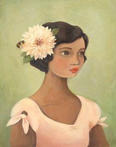 """Dahlia"" by Emily Winfield Martin"