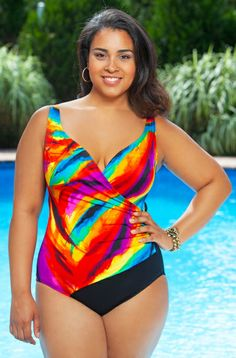 0a764370355cd 20 Best swimsuit images | One piece swimsuits, Plus size clothing ...