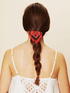 Beaded Hairslide  http://www.freepeople.com/whats-new/beaded-hairslide/