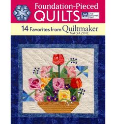 With 14 quilts ranging from whimsical to pictorial, geometric to floral, this is packed with stylish and colourful quilts from the pages of