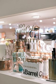 Crate Barrel Private Registry Event With 100 Layer Cake