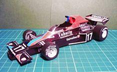 F1 Paper Model - 1976 GP German Shadow DN5B Paper Car Free Vehicle Paper Model Download